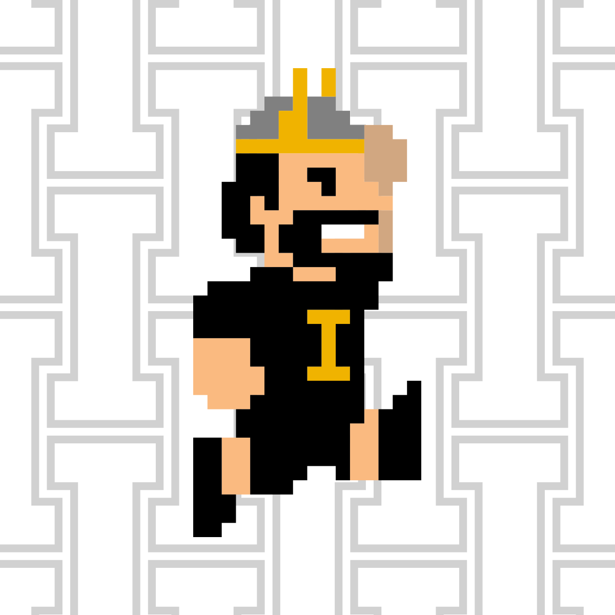Vandal Giving Day Profile Picture 8-bit Joe White Jump
