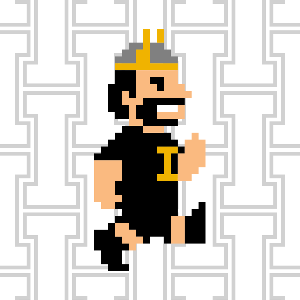 Vandal Giving Day Profile Picture 8-bit Joe White Run