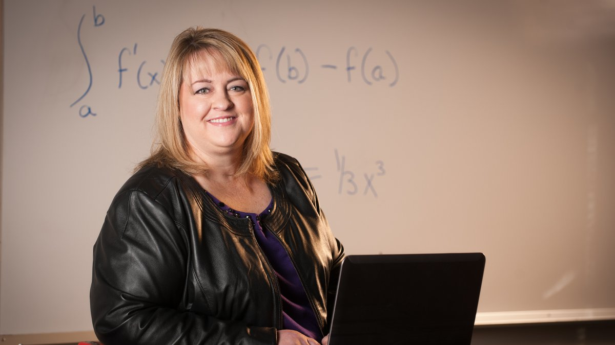Jana Joyce, program specialist in the UI math department.