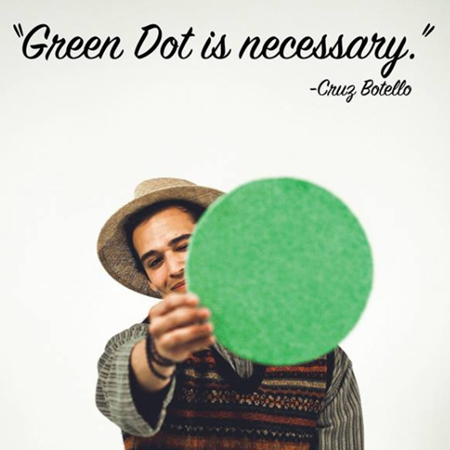 Green Dot is necessary.