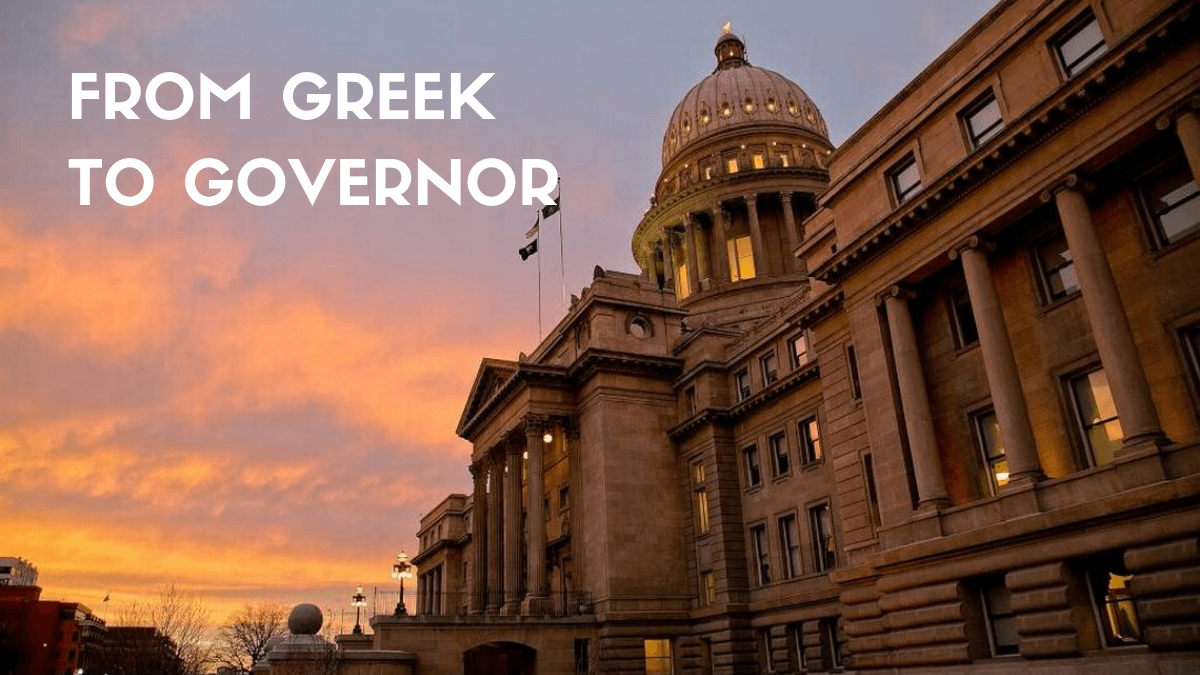 From Greek To Governor