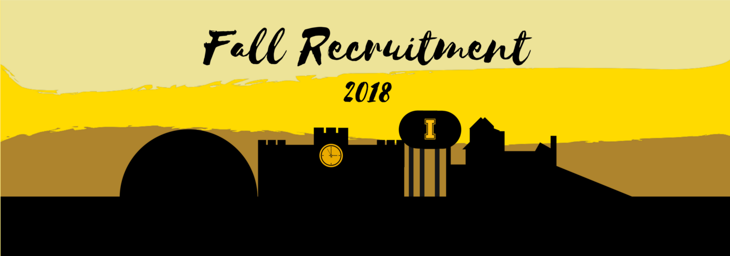 Fall Greek Recruitment 2018