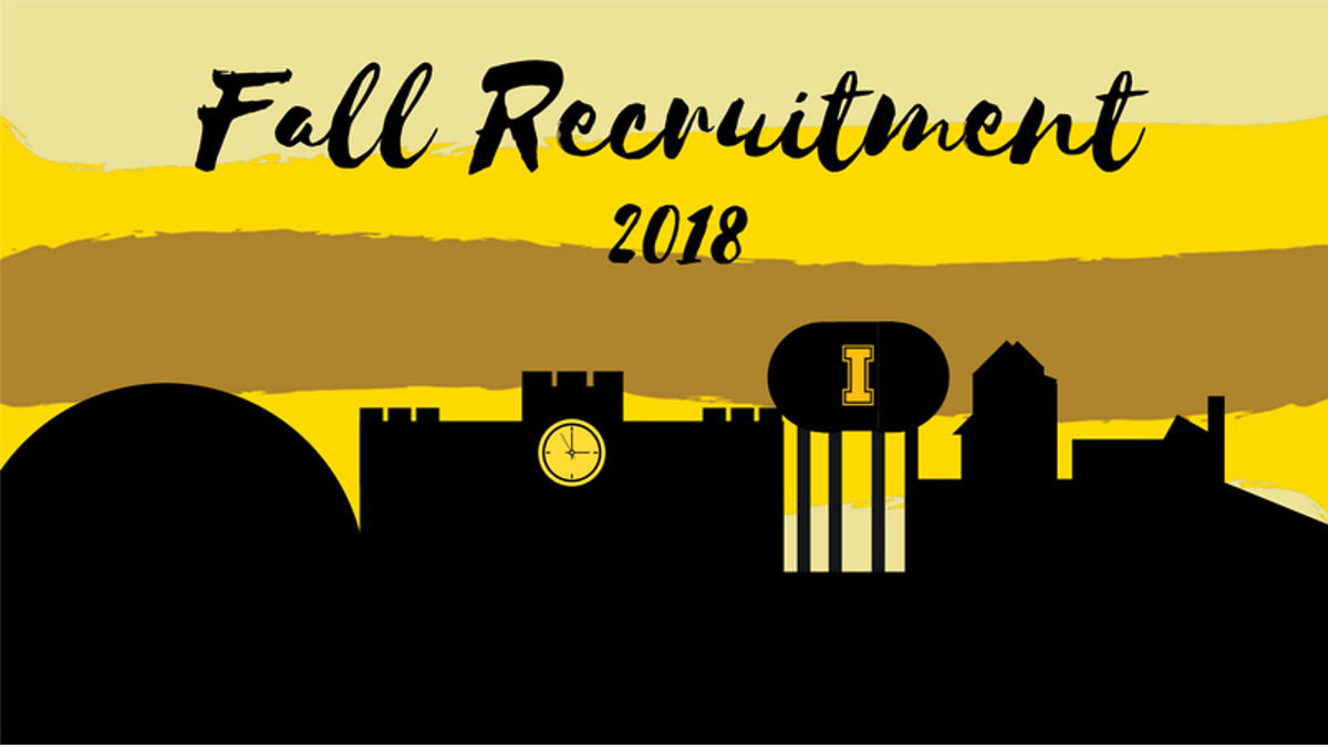 Fall Recruitment 2018