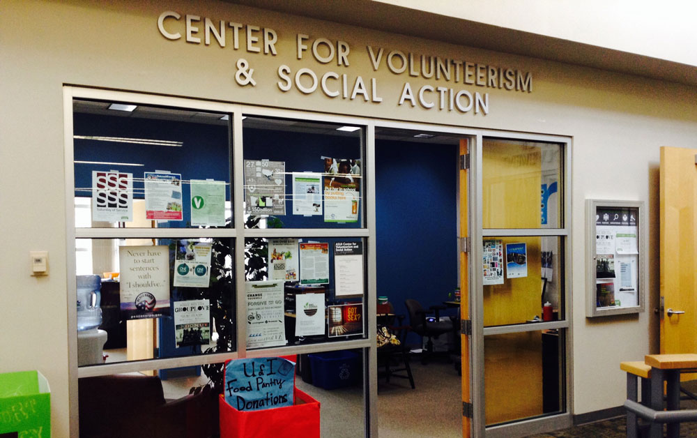 The University of Idaho Center for Volunteerism and Social Action