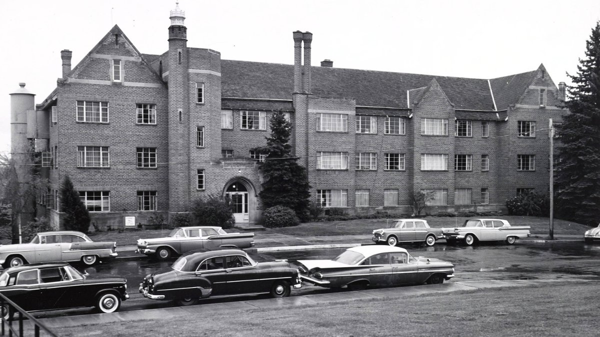 Mary E. Forney Hall circa 1957.