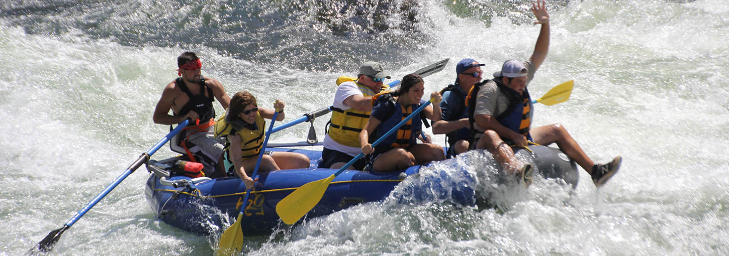 Whitewater Rafting with H2O Idaho