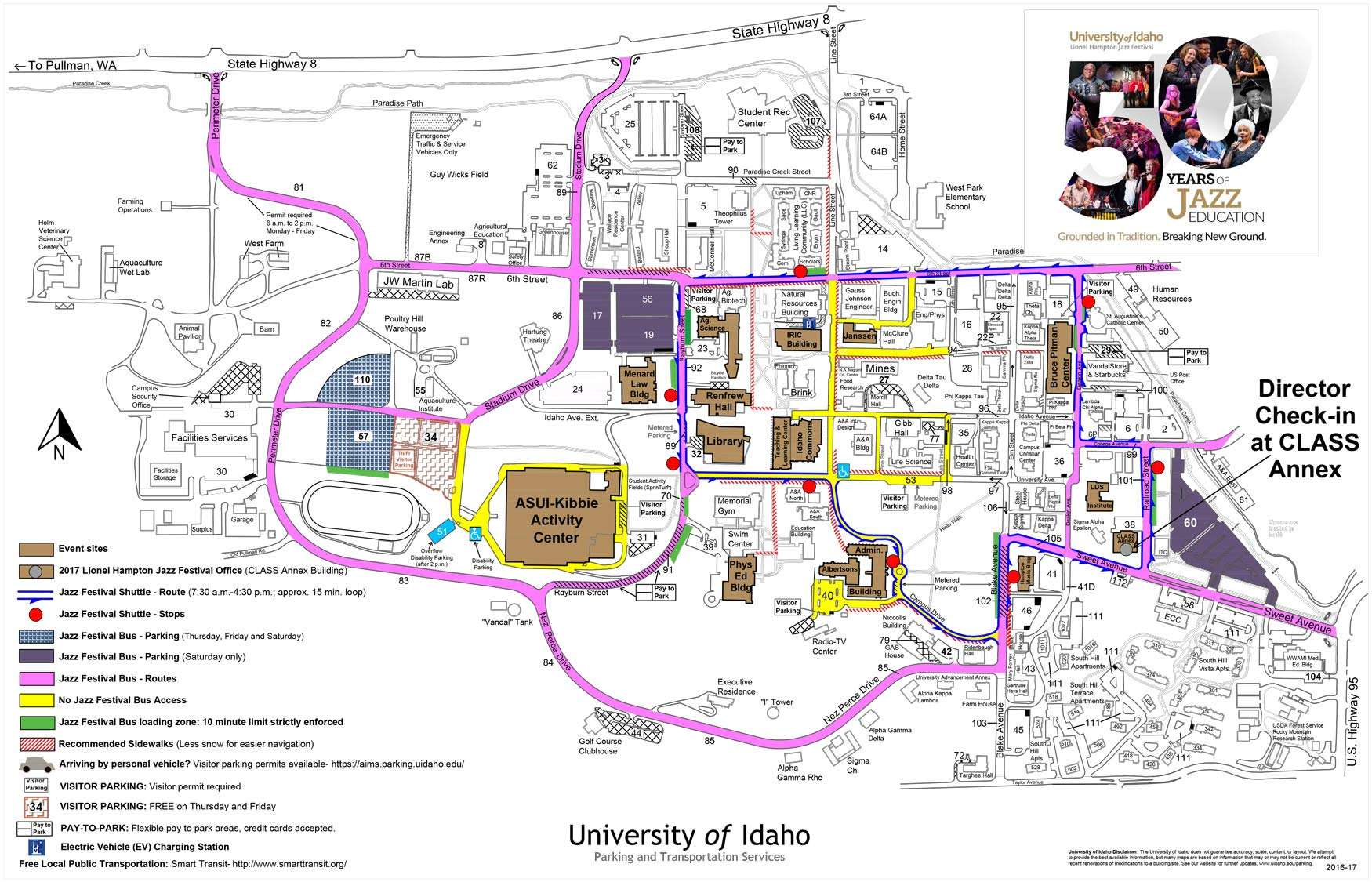 University Of Idaho Map Compressportnederland