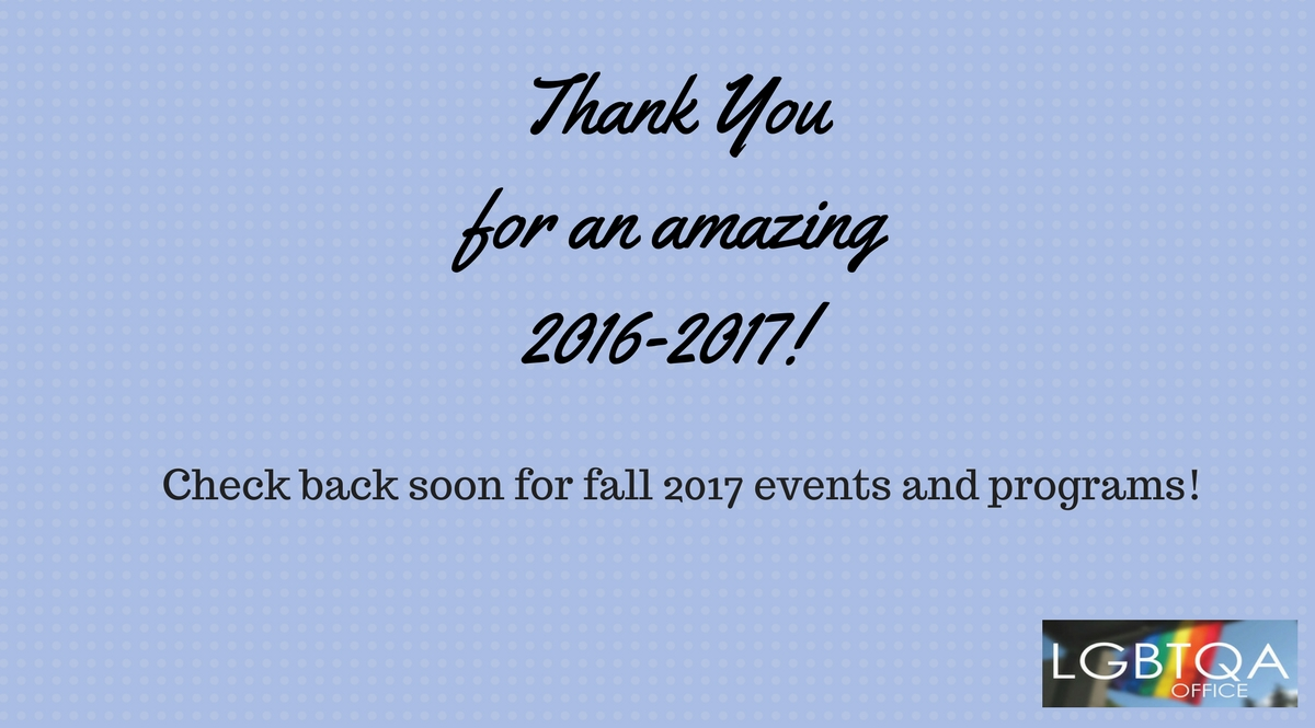 Fall 2017 Events Coming Soon