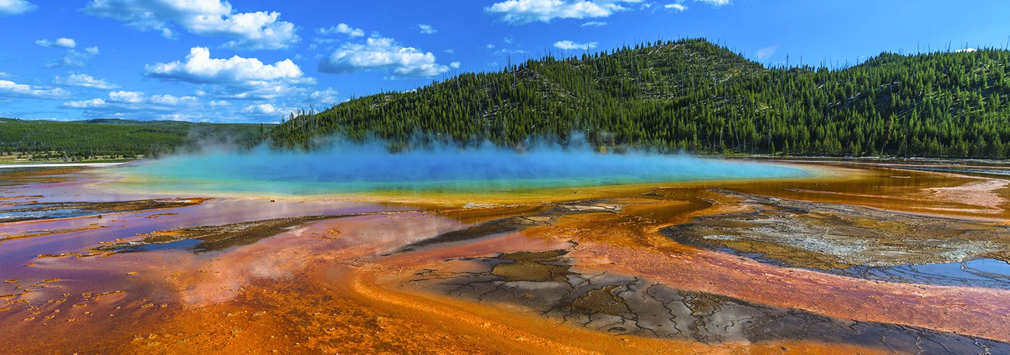 paintpots in Yellowstone National Park