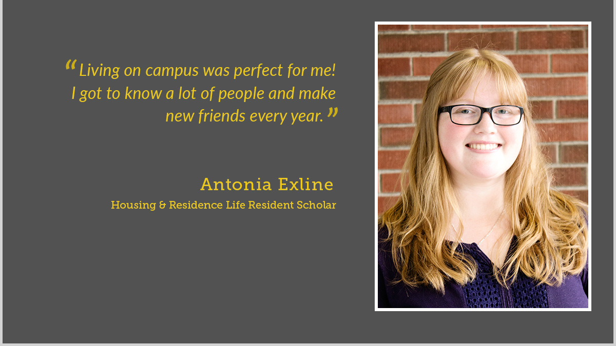 Resident Scholar Program awards $1500 to residents who graduate within 4 years